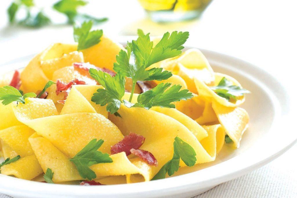 Casa Rustichella pappardelle al limone