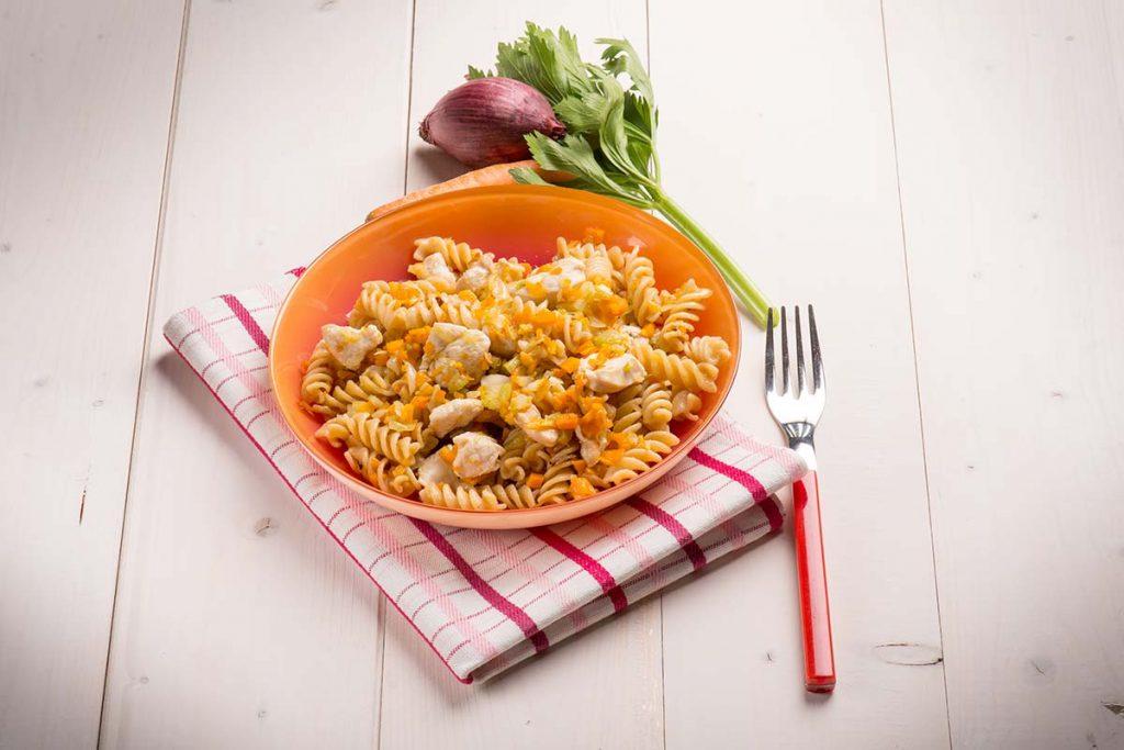 Casa Rustichella Fusilli con carote e bocconcini di pollo ricette
