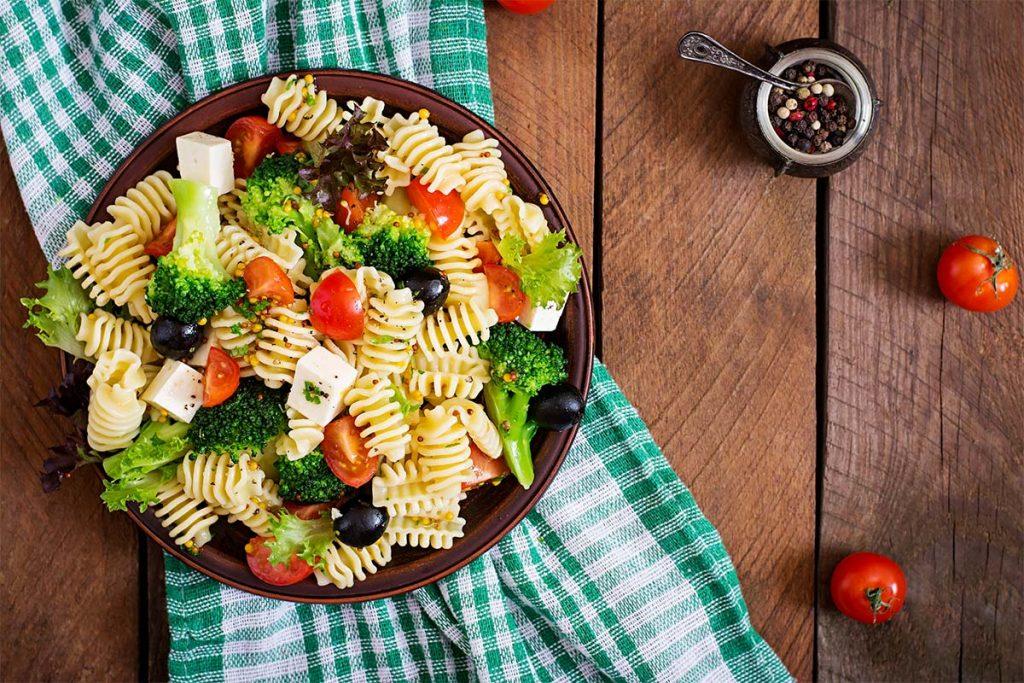 Casa Rustichella Pasta fredda con broccoli pomodorini feta e olive ricette