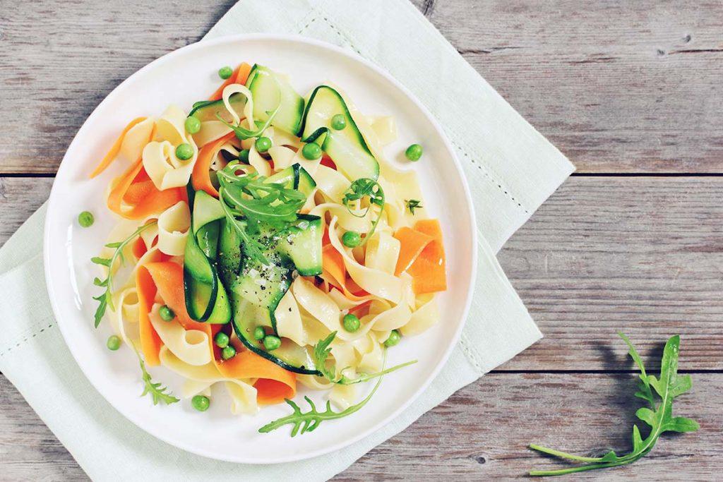 Casa Rustichella nidi tagliatelle alle verdure estive ricette