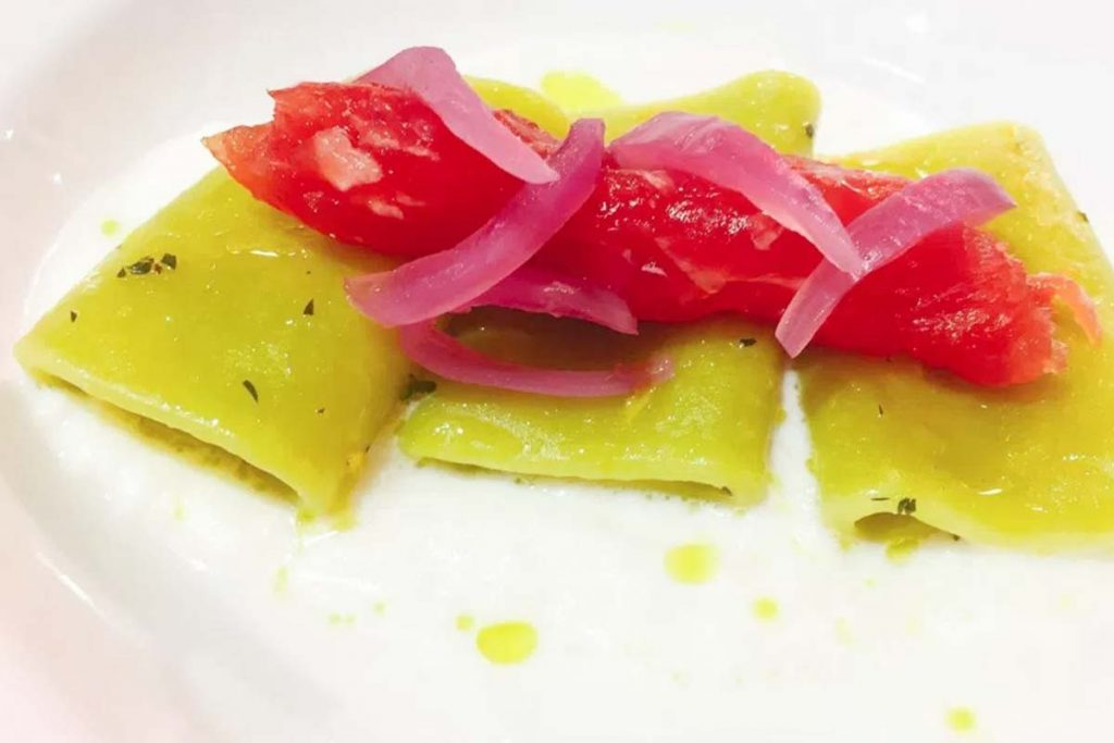 Casa Rustichella A tavola con gli chef paccherini al kiwi ricette
