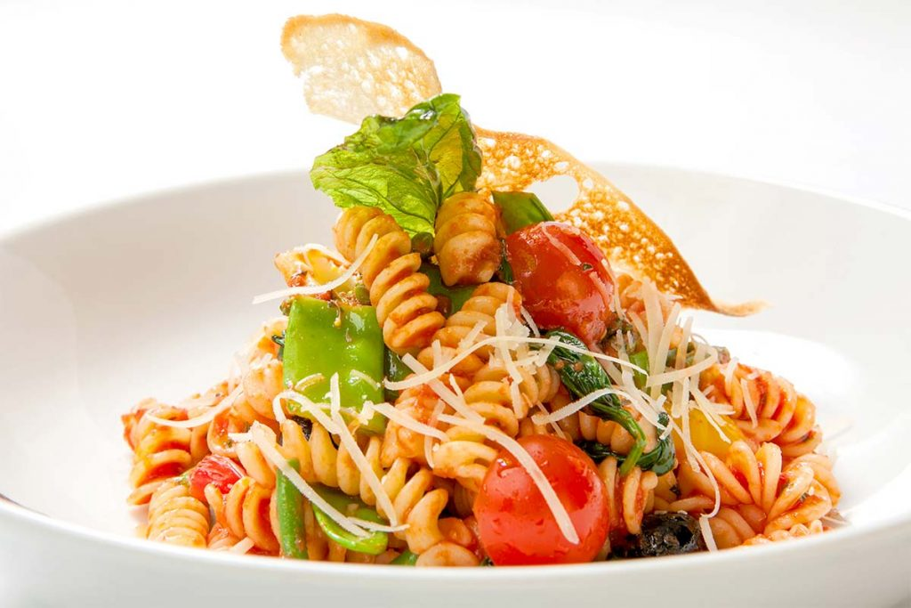 Casa Rustichella Fusilli con piattoni al pomodoro e parmigiano in crosta ricette