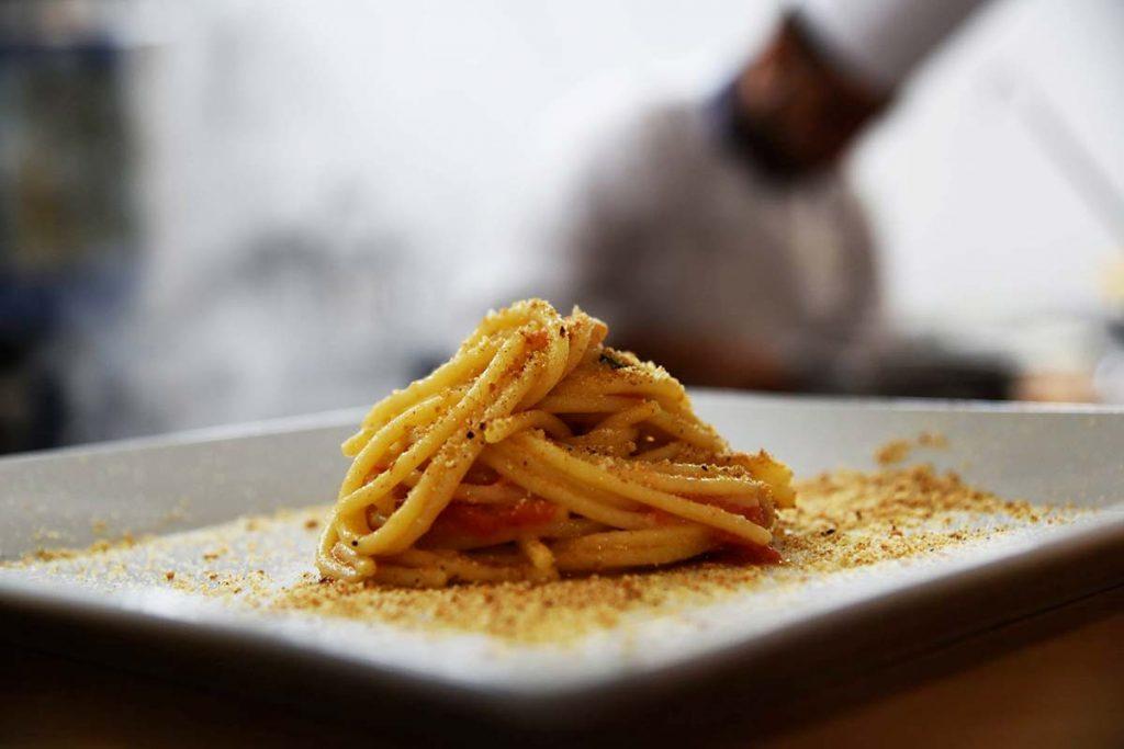 Casa Rustichella spaghettoni primograno agli chef mignemi trimboli ricette