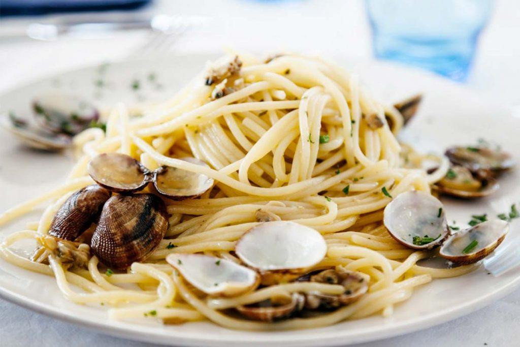 Casa Rustichella Spaghettoni PrimoGrano alle vongole ricette