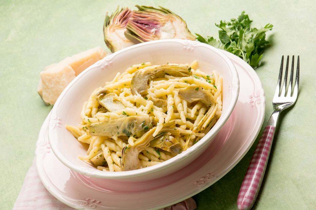 Casa Rustichella Trofie con Carciofi e Parmigiano ricette