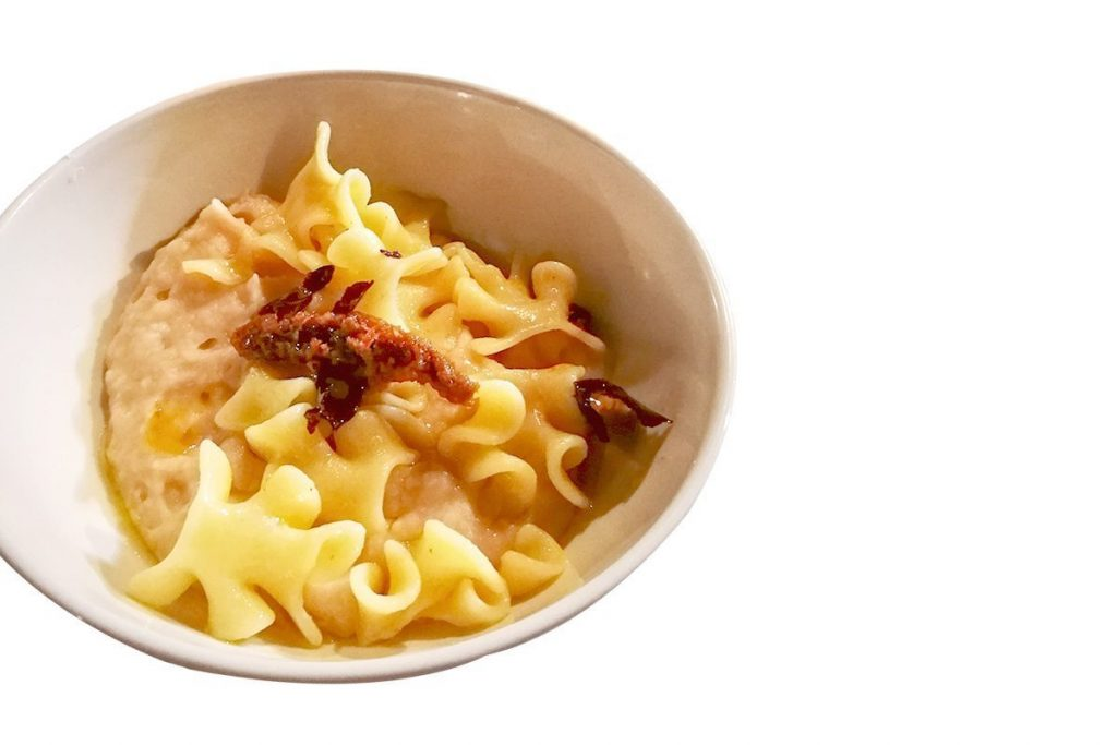 Casa Rustichella A tavola con gli Chef Sagne a Pezzi PrimoGrano ricetta