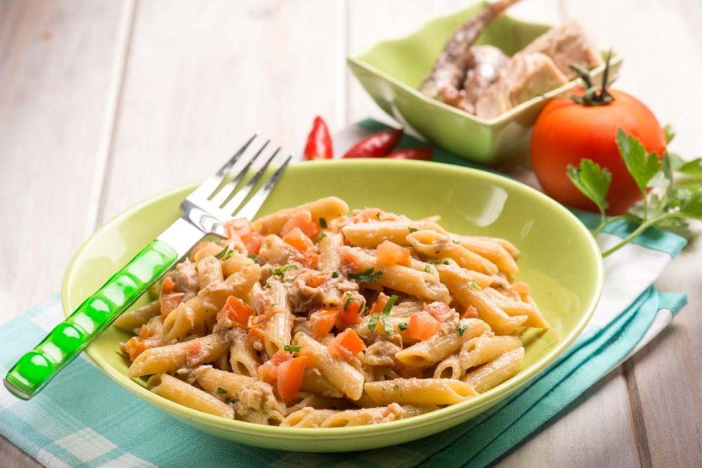 Casa Rustichella Pennette rigate tonno pomodoro e peperoncino ricette