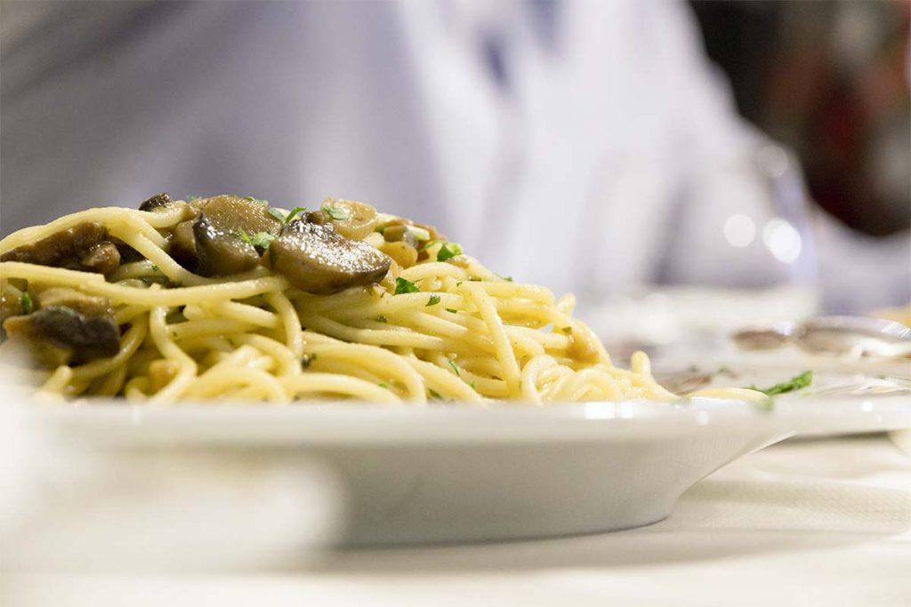 Casa Rustichella Spaghetti 90 Rapida con funghi porcini al bianco ricette