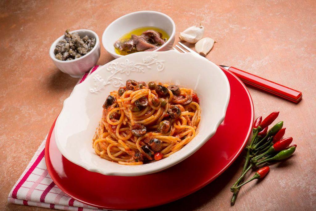 Casa Rustichella Capellini alla puttanesca ricetta