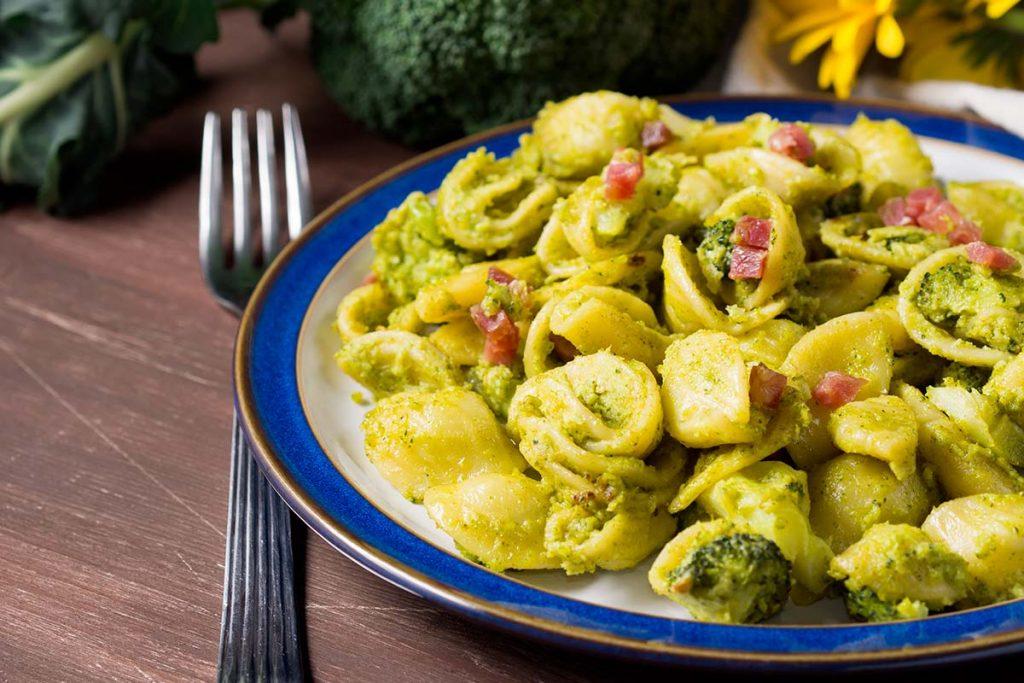 Casa Rustichella Orecchiette broccoli e pancetta ricette