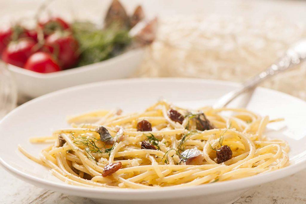 Casa Rustichella Spaghetti con sarde e finocchietto selvatico ricette