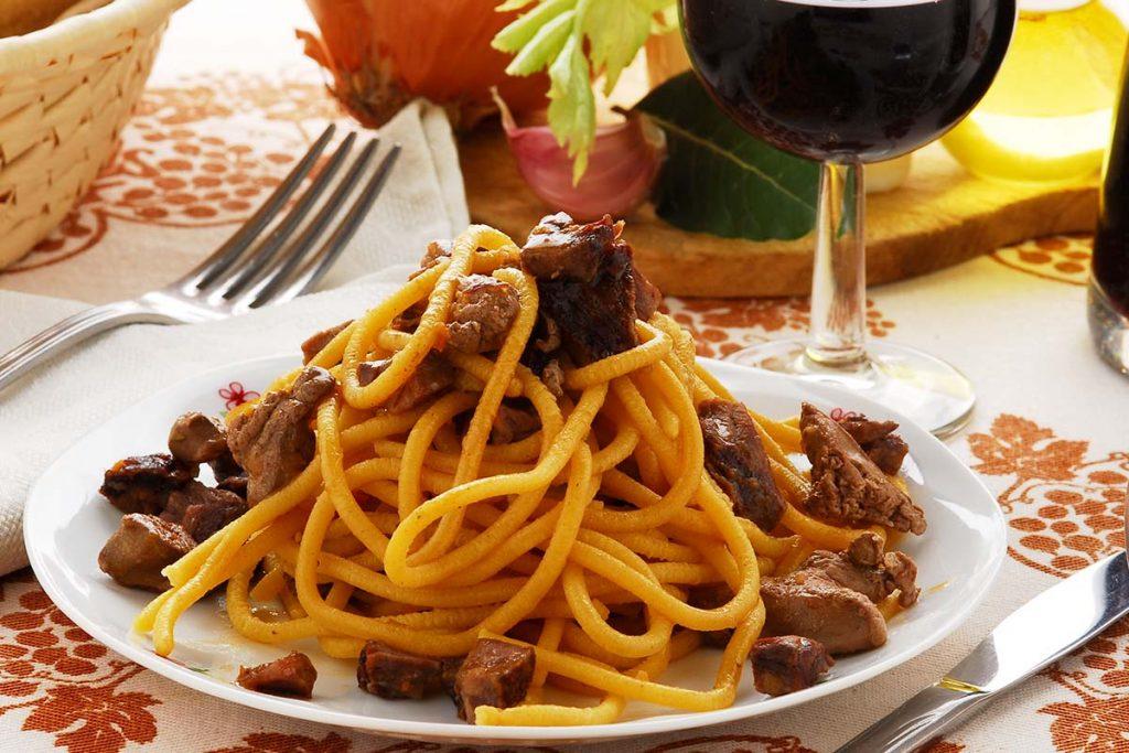 Casa Rustichella Spaghettone del Leone con sugo allanatra ricette
