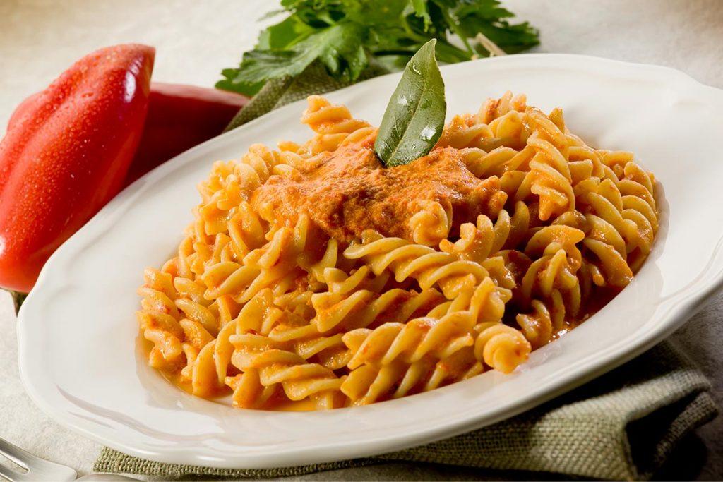 Casa Rustichella Fusilli alla crema di peperoni ricette