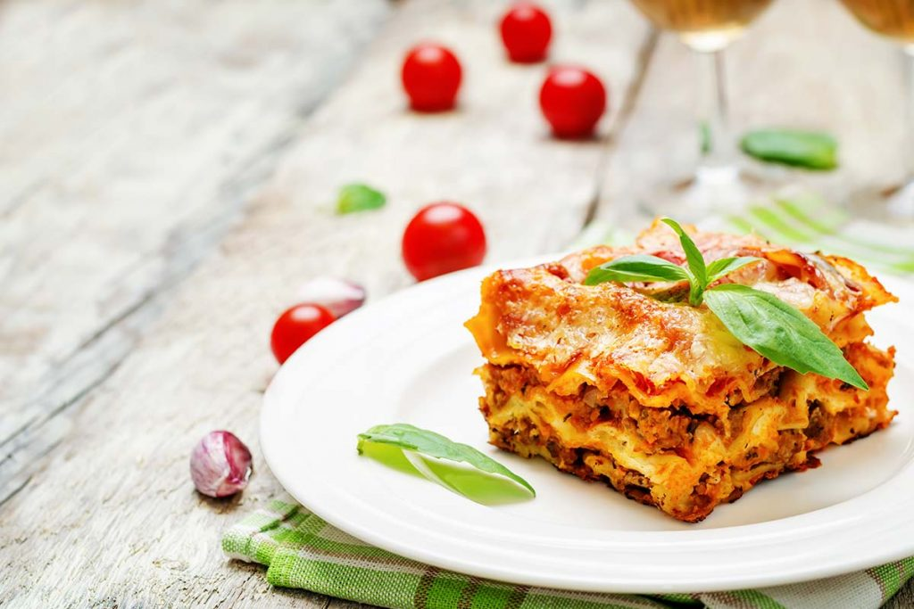 Casa Rustichella Lasagne con Passata di pomodoro Pera dAbruzzo ricette