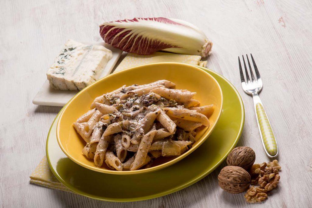 Casa Rustichella Penne Rigate Integrali radicchio e gorgonzola ricette