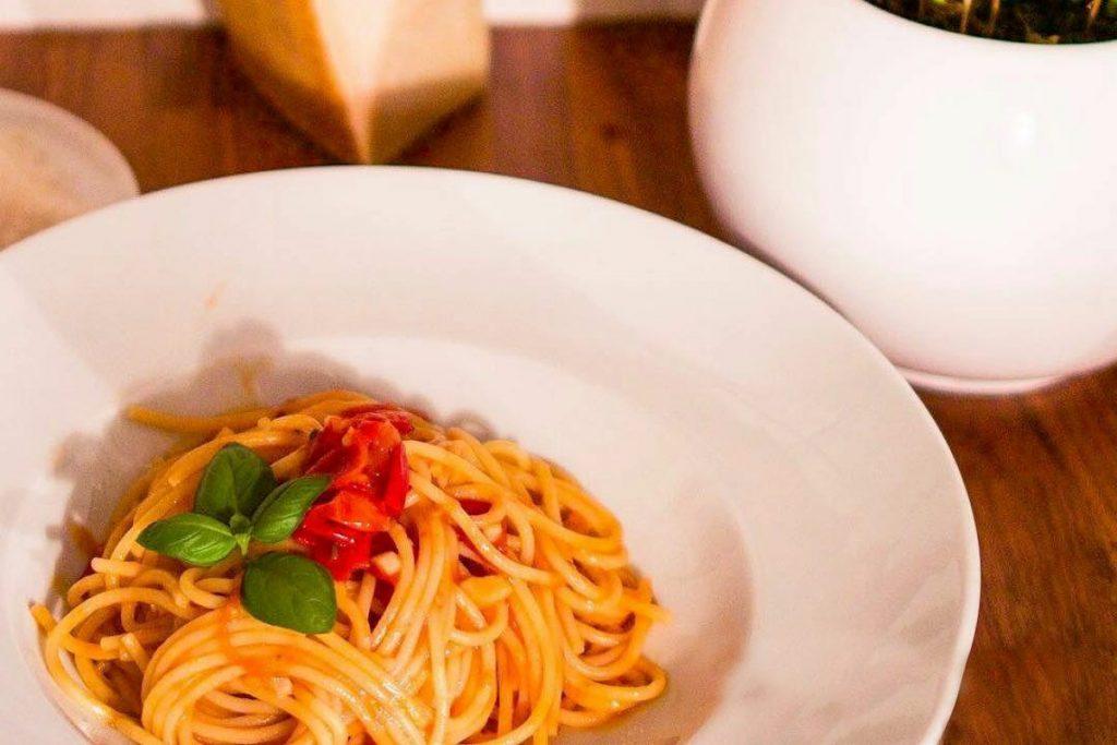 Casa Rustichella Spaghetti con Piennolo del Vesuvio ricette