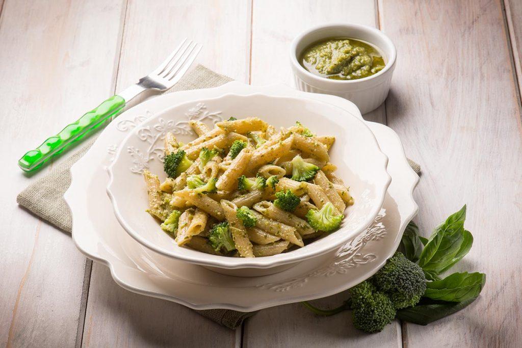 Casa Rustichella Pennette rigate pesto e broccoli ricette