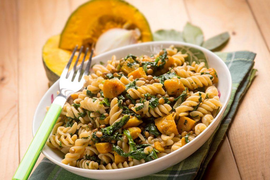 Casa Rustichella fusilli zucca e spinaci ricette