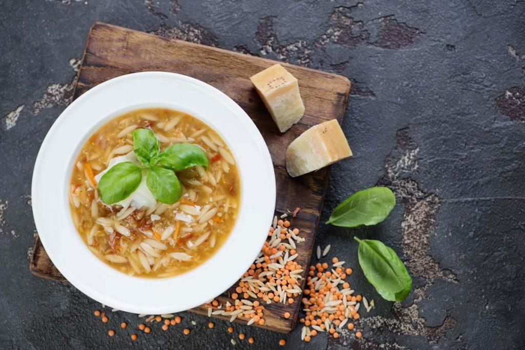 Casa Rustichella orzo pasta lenticchie rustichella dabruzzo