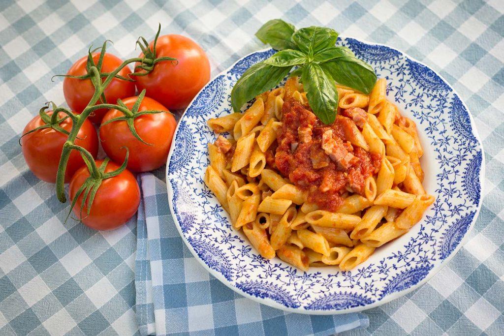 Casa Rustichella pennucce rigate sugo amatriciana rustichella dabruzzo ricetta