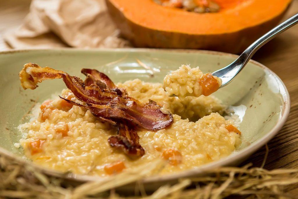 Casa Rustichella risotto zucca pancetta rustichella dabruzzo ricetta