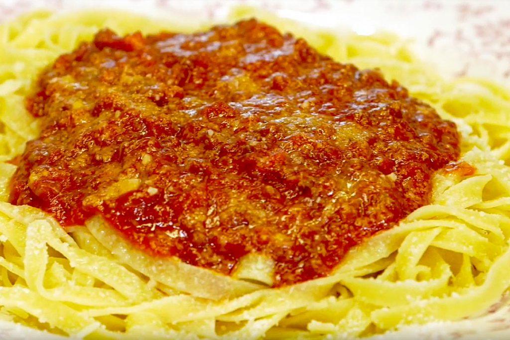 Casa Rustichella nidi tagliatelle ragu carne rustichella ricetta