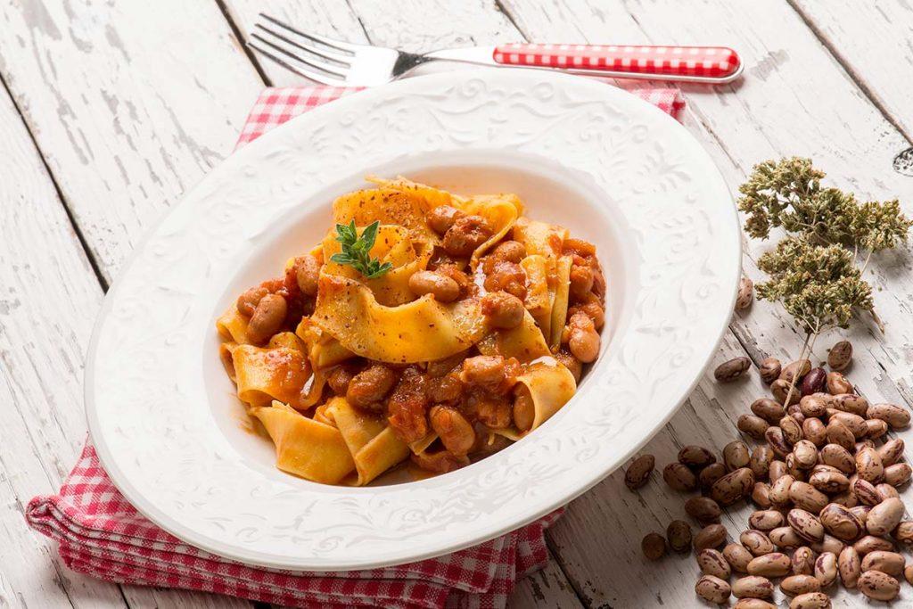 Casa Rustichella pappardelle uovo fagioli rustichella dabruzzo ricetta