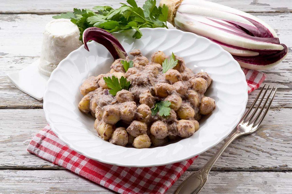 Casa Rustichella perle di patate radicchio rustichella dabruzzo ricetta