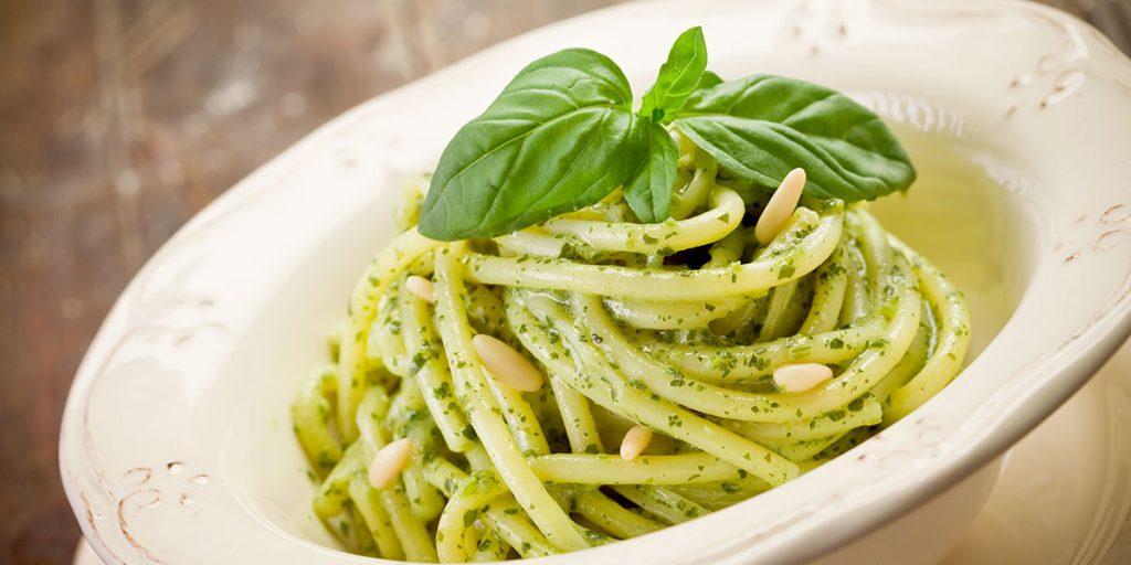 ricetta spaghettoni primograno al pesto