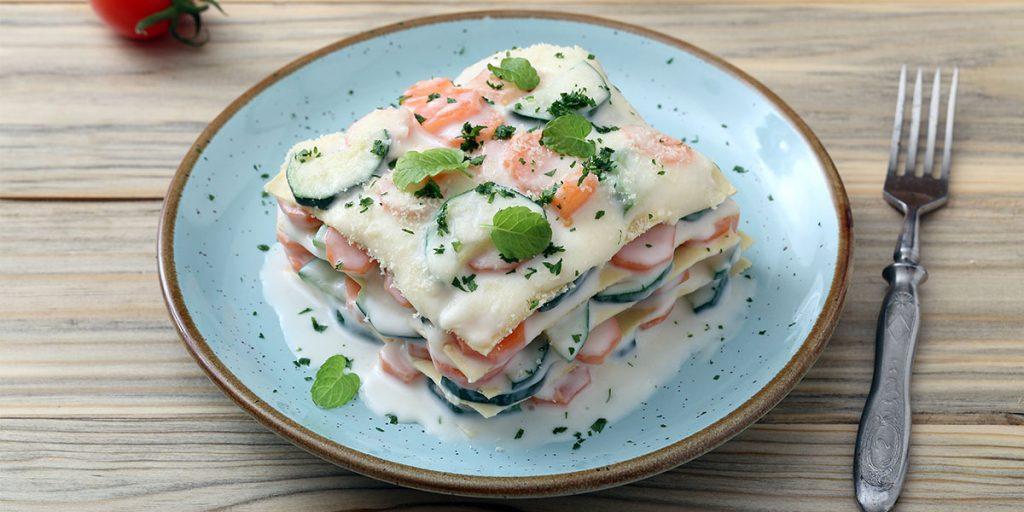 lasagne bianche carote e zucchine ricette