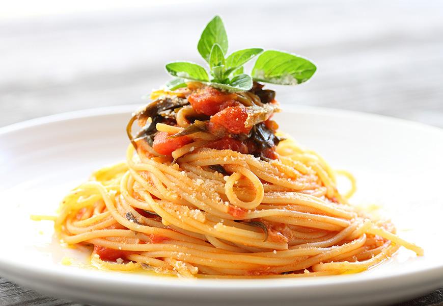 Casa Rustichella Spaghettini con sugo di verdure