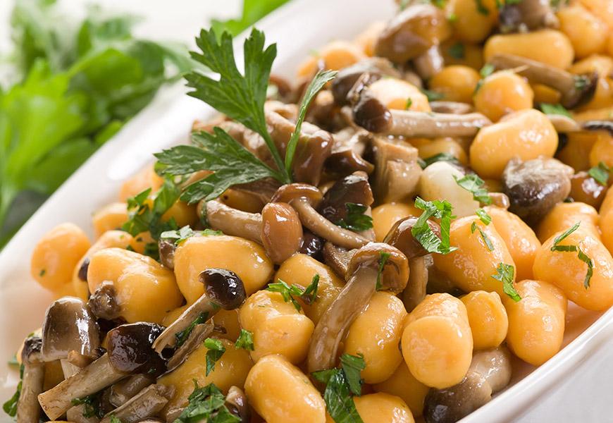 perle di patate ai chiodini