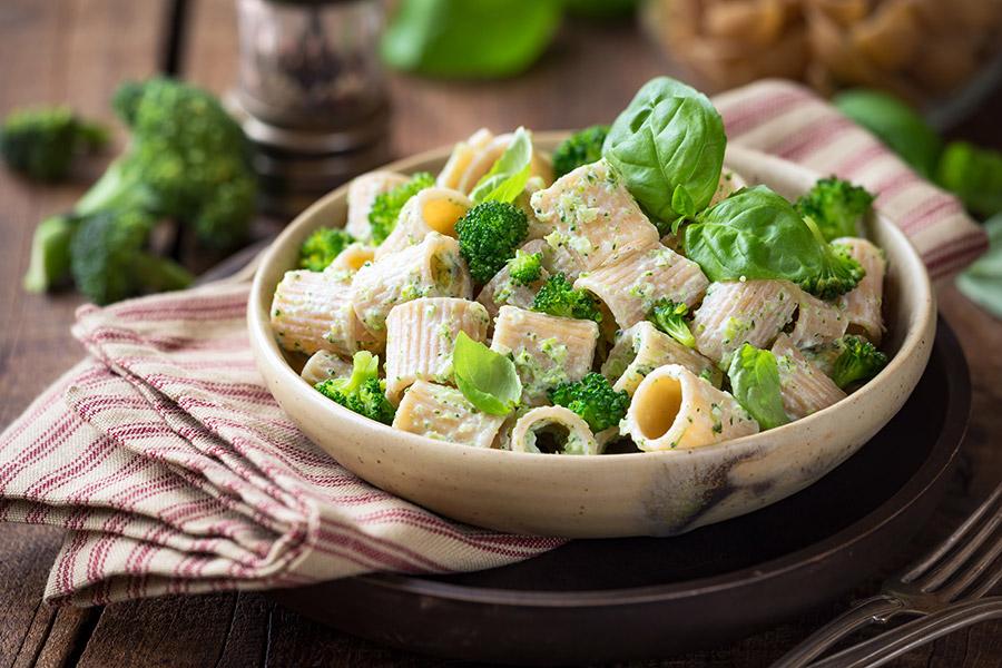 Tubetti alla crema di broccoli