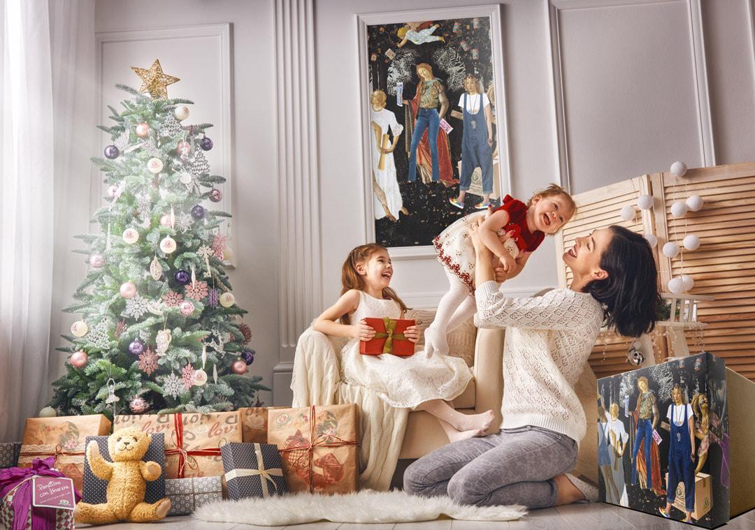 Casa Rustichella christmas tree slide