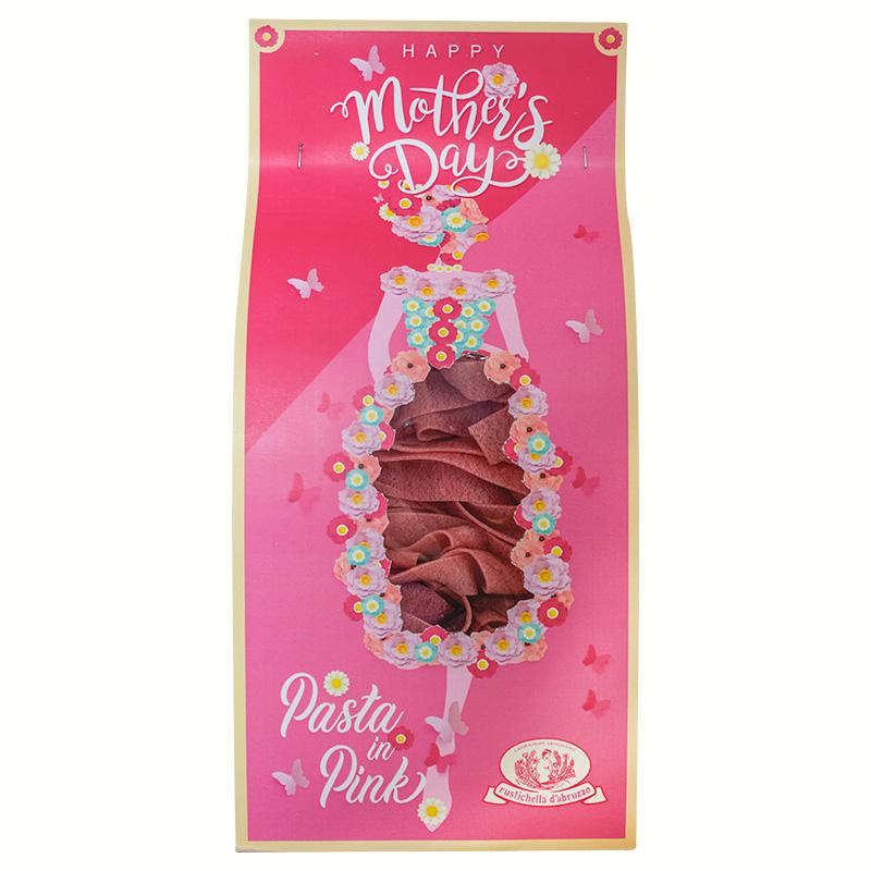 Casa Rustichella pink pappardelle pack