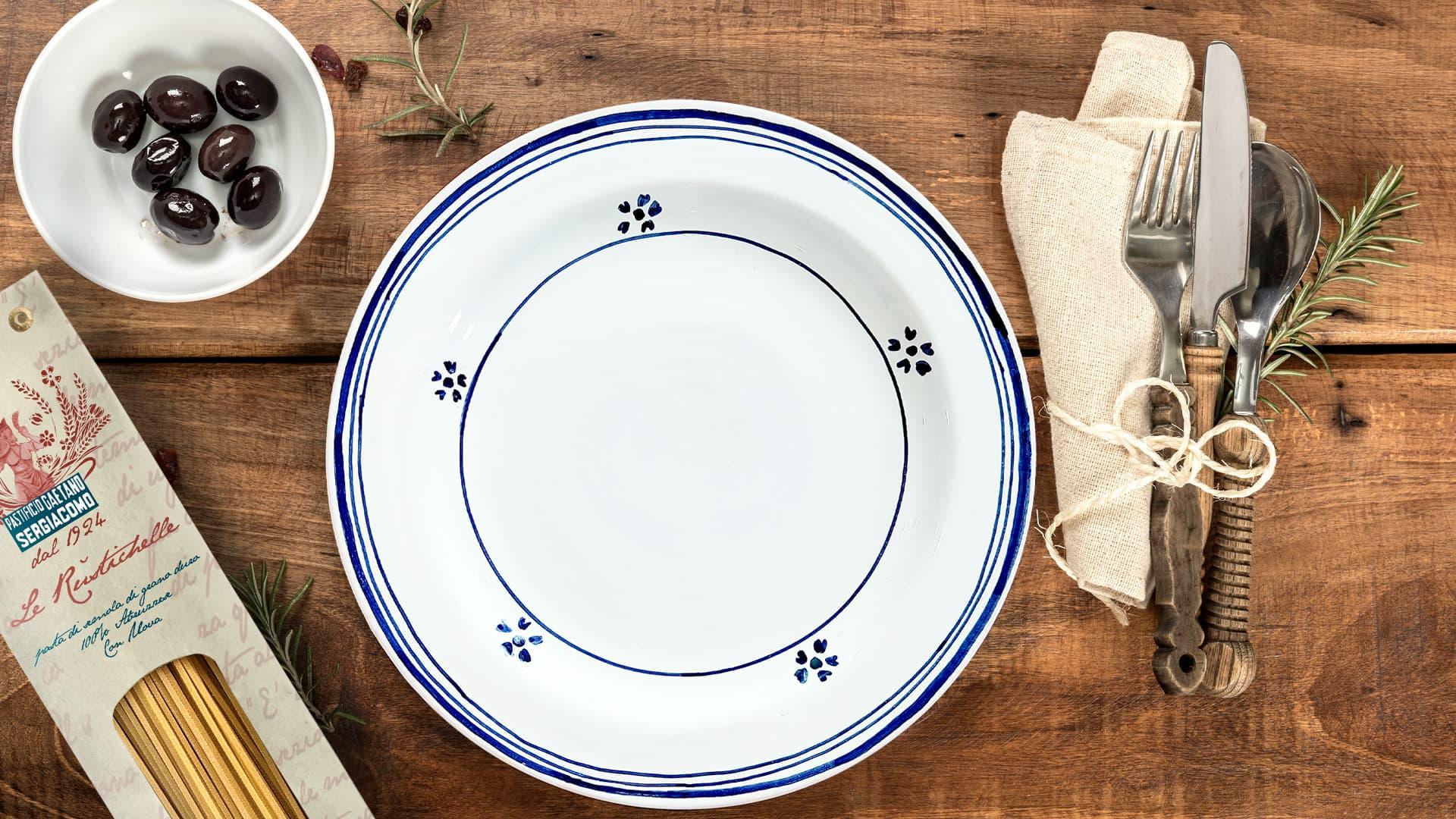Casa Rustichella slide set piatti ceramica 2