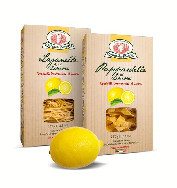 Casa Rustichella pappardelle laganelle limone landing