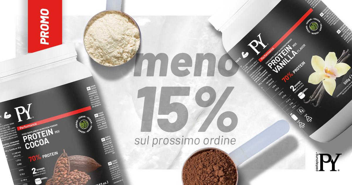 Casa Rustichella promo img facebook proteine vegane 15 per 100