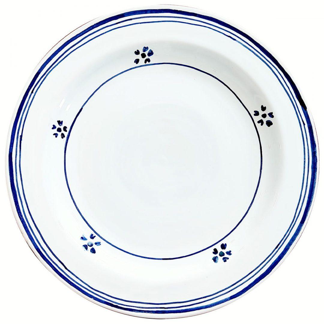 Casa Rustichella piatto ceramica singolo